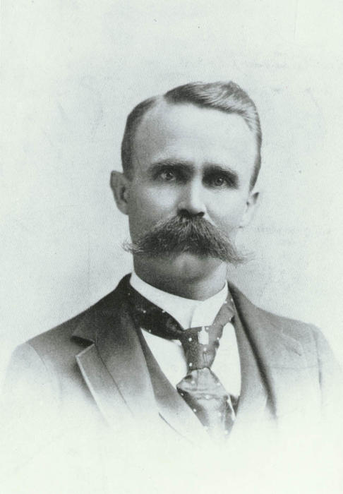Portrait of Corona founder H. Clay Kellogg