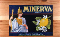 "Citrus label ""Minerva"" brand - Jameson Company - Corona"
