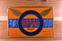 "Citrus label ""Envoy"" brand - R. H. Verity, Sons and Company - Corona"