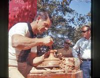 Valyermo, pottery maker -  - 1968