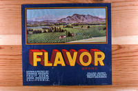 "Citrus label ""Flavor"" brand - Orange Heights Citrus Assn.  - Corona"