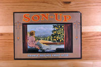 "Citrus label ""Son-Up"" brand - Orange Heights Fruit Association - Corona"