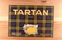 "Citrus label ""Tartan"" brand.  Corona Foothill Lemon Company - Sunkist"