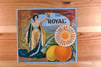 "Citrus label ""Royal"" brand - Queen Colony Fruit Exchange - Sunkist Lemons and..."