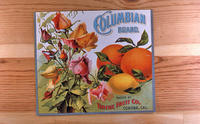 "Citrus label ""Columbian"" brand - Thieme Fruit Co. - Corona, California"