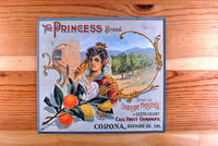 "Citrus label ""The Princess"" brand - Orange Heights in Queen Colony - Call Fruit..."