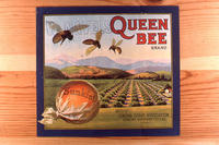 "Citrus label ""Queen Bee"" Navel Orange brand - Corona Citrus Association - Sunkist..."