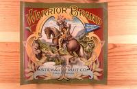 "Citrus label ""Warrior"" brand.  Stewart Fruit Company - California"