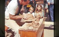 Pottery maker - Valyermo - 1968