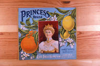 "Citrus label ""Princess"" brand - Call Fruit Company - Corona"