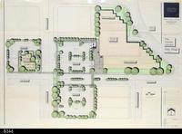 Blueprint - 1991 - Architectural Rendering - Site Plan