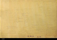 Blueprint - 1963 - Joe Bridges Market - Air Conditioning Plan - Plan 301D