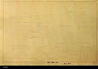 Blueprint - 1963 - Joe Bridges Market - Air Conditioning Plan - Plan 301D