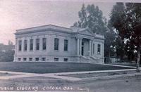 Carnegie Library - Corona, California