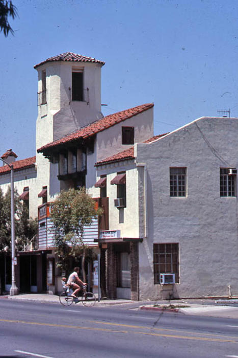 This slide is of the Corona Theater on East 6th Street in Corona. - SLIDE CONDITION:  Good