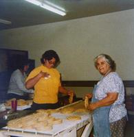Workers at Ortiz Tortilla Store