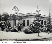 Photo - Unusual Weather - Corona Public Library -1949