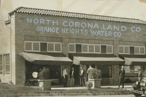 Norco general offices of the North Corona Land Company and the Orange Heights Water Company