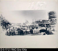Photo - 1916 - Corona Auto Race - Driver- Mechanic Line-up