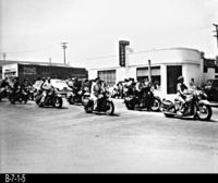 Photo - c. 1945 - Motorcycle Club
