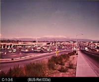Photo c. 1970's - Von's Shopping Center - Looking north on Main St.