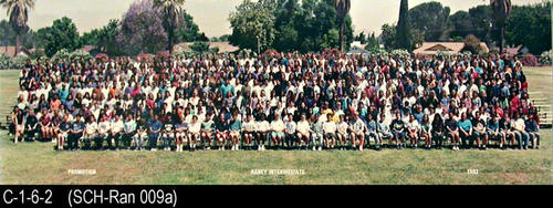"1993 group promotion photo for Raney Intermediate School.  MEASUREMENTS:  8"" X 24"" - CONDITION:  Photo is laminated and in excellent condition. - COPIES:  1."