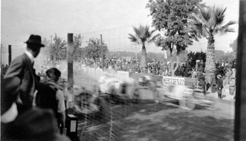 The start of a Corona Road Race held on Grand Boulevard.