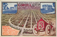 Advertisement for the Corona Road Race