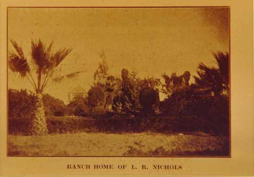 Ranch House of L. R. Nichols