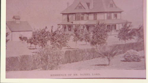 The residence at 203 West Kendall in Corona. The house once belonged to early resident, Daniel Lord.