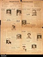 Newspaper - 1939 - The Corona Daily Independent - Prado Dam - October 25, 1939...