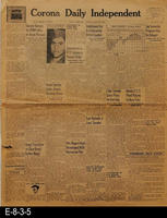 1945 - News of WWII, International, National, State, and Local News