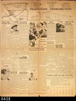 Newspaper - 1940 - The Corona Daily Independent - Prado Dam - January 24, 1940...