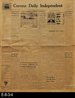 1945 - General news relating to WWII, international, national, state and local...