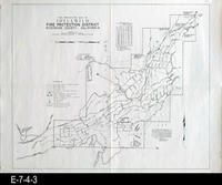 1959 - Fire Protection Map of Idyllwild Fire Protection District - Riverside...