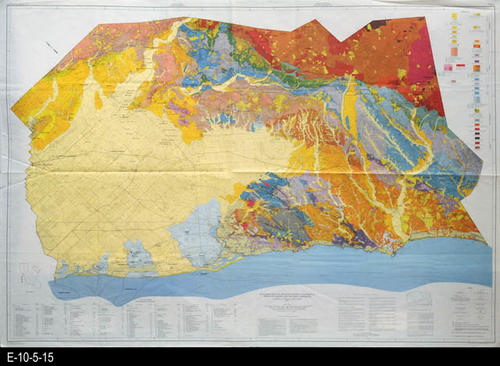 1981 - Geologic Map of Orange County California, Showing
