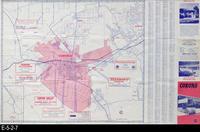 1967 - Corona Street Map