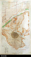 1942 - Corona and Vicinity, CA - Topographic Map