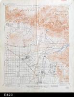 1901 - Anaheim, CA - Topographic Map