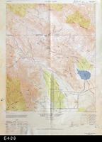 1947 - Clark Lake, CA - Topographic Map
