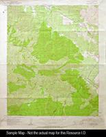1942 - Santiago Peak, CA - Topographic Map