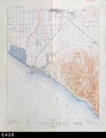 1901 - Santa Ana, CA - Topographic Map