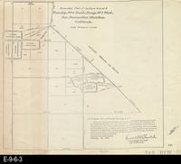 1917 - Amended Plat of Sections 4 and 9 - Township #4 South, Range #7 West,...