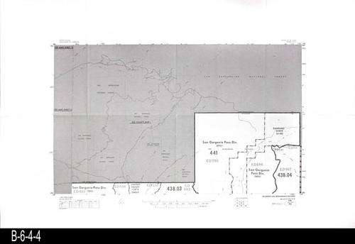 Map - c  1980 - 1980 Census Block Map No  94 - San Gorg  Pass Div