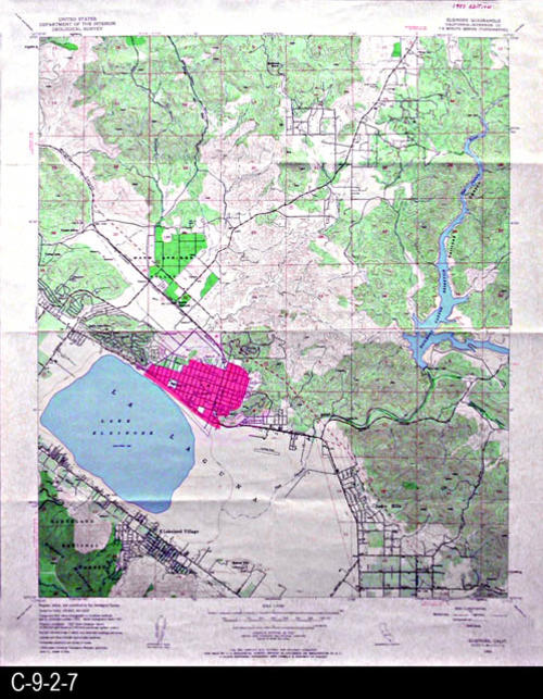Map - 1953 - Elsinore Quadrangle - Riverside County - U. S. ...
