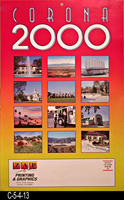 Poster - 2000 - Twelve pictures of Corona in the year 2000