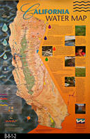 Poster - 1997 - California Water Map - Water Education Foundation