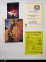 Poster - 1996 - National Library Week and Exhibit: Fading Images - Indian Pictographs...