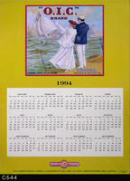 Poster - 1994 Calendar - O.I.C. Brand Fruit Label Picture