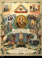 Poster - Undated - I.O.O.F Lodge Poster - Circle Lodge 377, Corona, CA